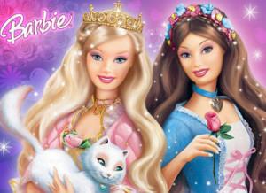 Барби принцесса и нищенка 300x218